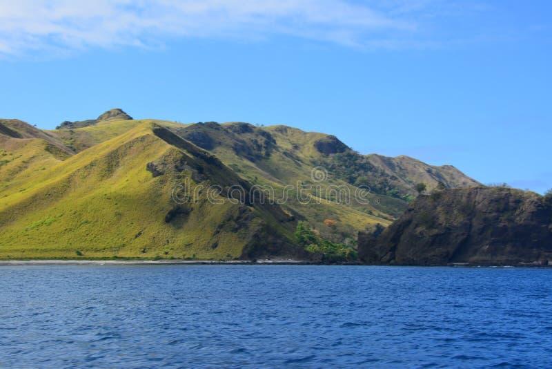 Fiji górkowaty krajobraz fotografia royalty free