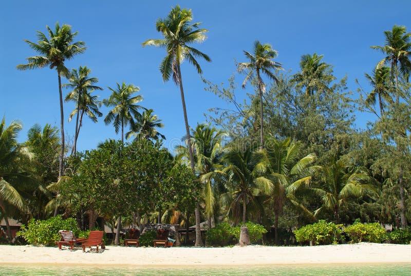 Fiji, het Eiland van Malolo Lailai stock afbeelding