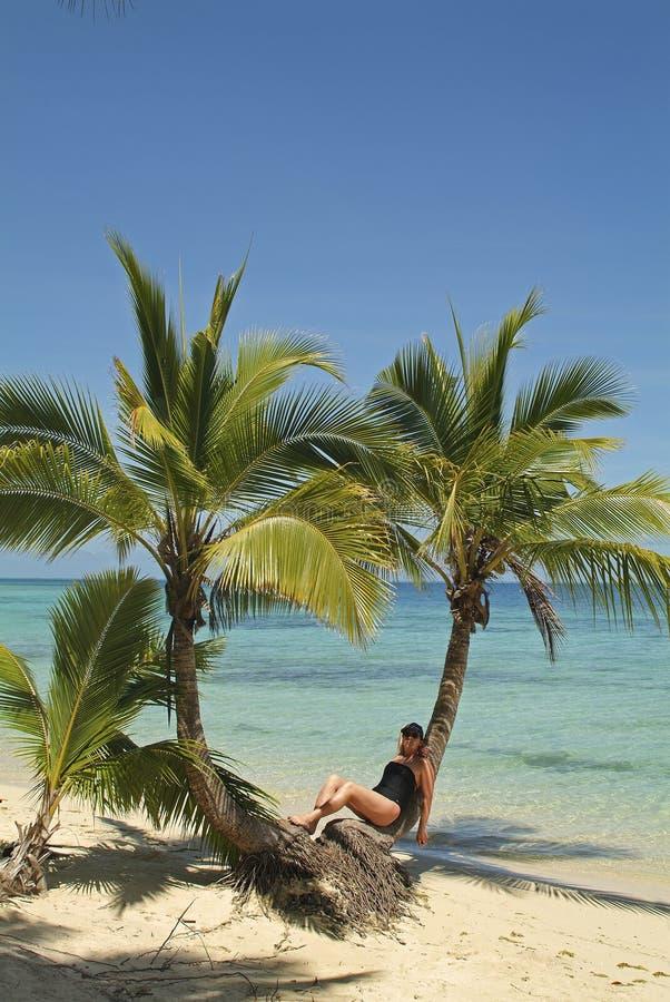Fiji wyspa, plaża obrazy royalty free