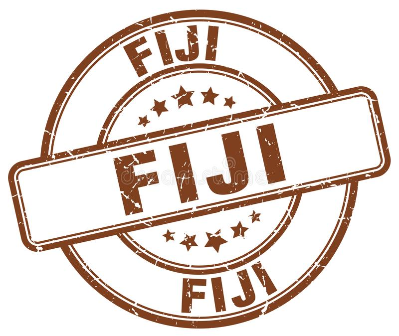 Fiji znaczek royalty ilustracja