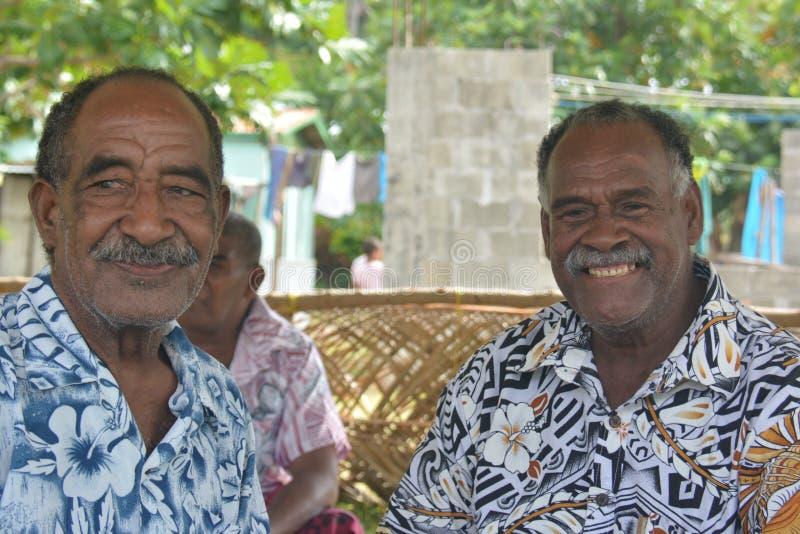 Fijian nativo imagen de archivo libre de regalías