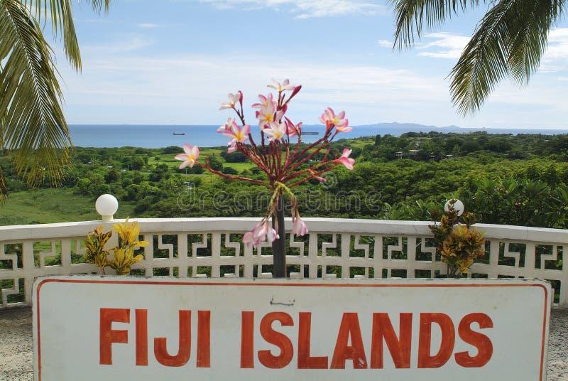 Fijiansk ö, arkivfoton