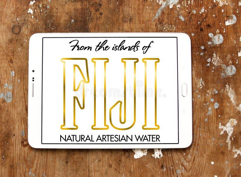 Fijiansk vattenlogo arkivfoto