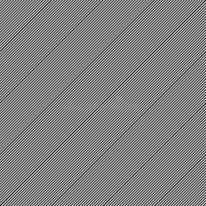 Fijn naadloos het ontwerppatroon van het Lijnmotief stock illustratie