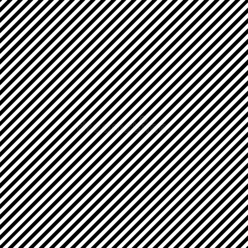 Fijn naadloos het ontwerppatroon van het Lijnmotief vector illustratie