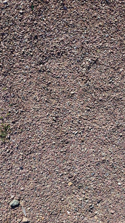 Fijn scherp graniet en de verpletterde macro van het steenclose-up landschapsontwerpsjabloon royalty-vrije stock foto's