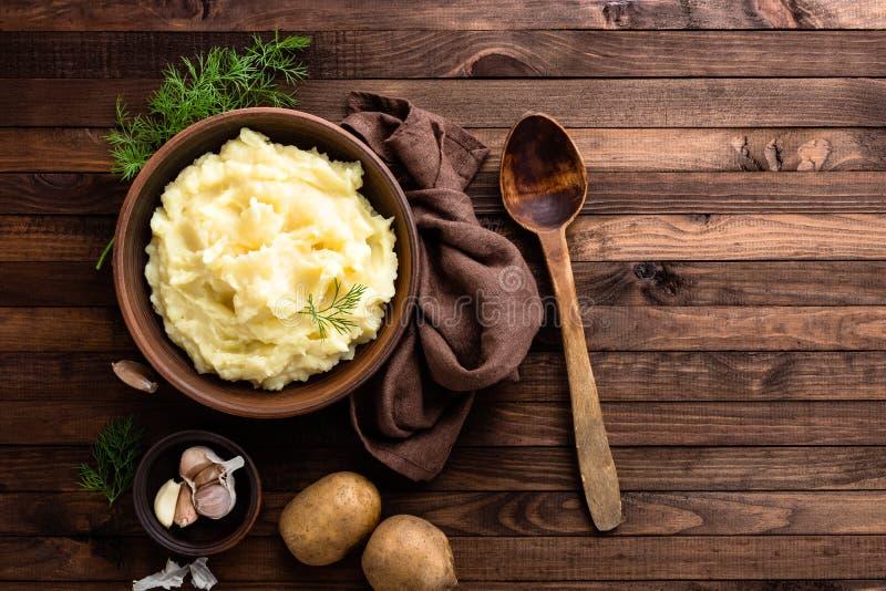 Fijngestampte Aardappel royalty-vrije stock fotografie