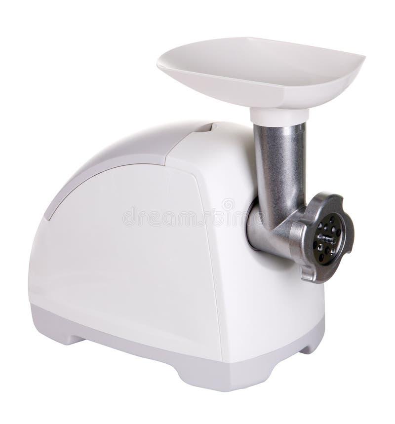 Download Fijnhakkende Machine Die Op Witte Achtergrond Wordt Geïsoleerdh Stock Foto - Afbeelding bestaande uit cutting, malen: 10775650