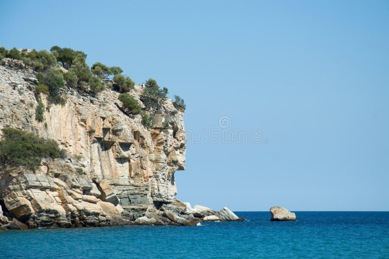 Filón en el mar Mediterráneo foto de archivo