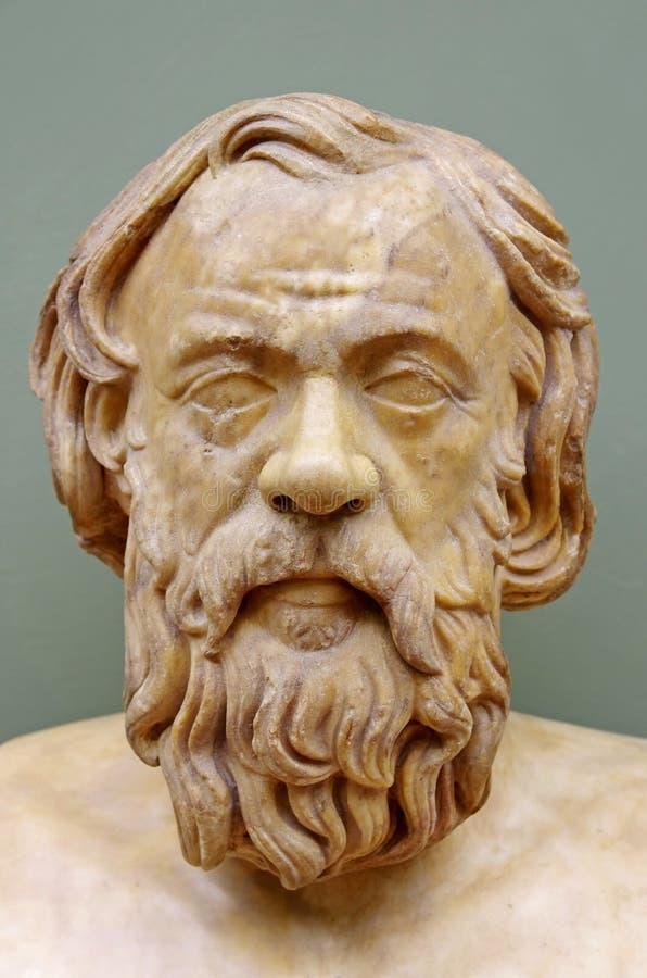 Filósofo griego Socrates fotos de archivo