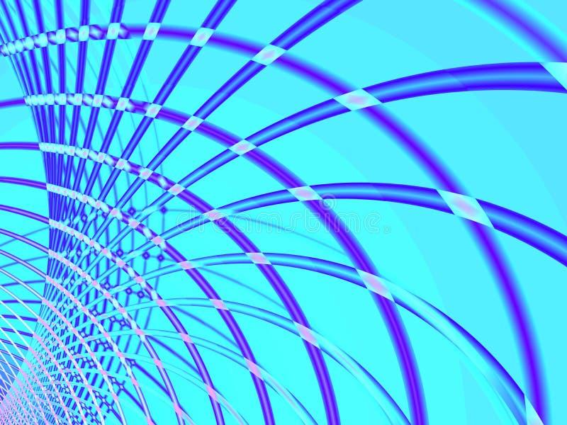 Fil bleu illustration stock