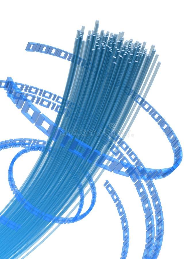 Fil de fibre illustration libre de droits