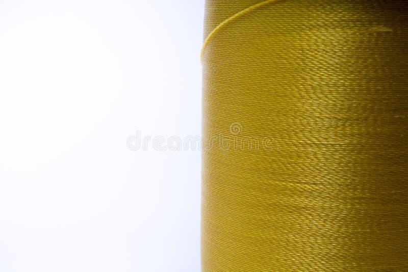 Fil de jaune de moutarde photos stock