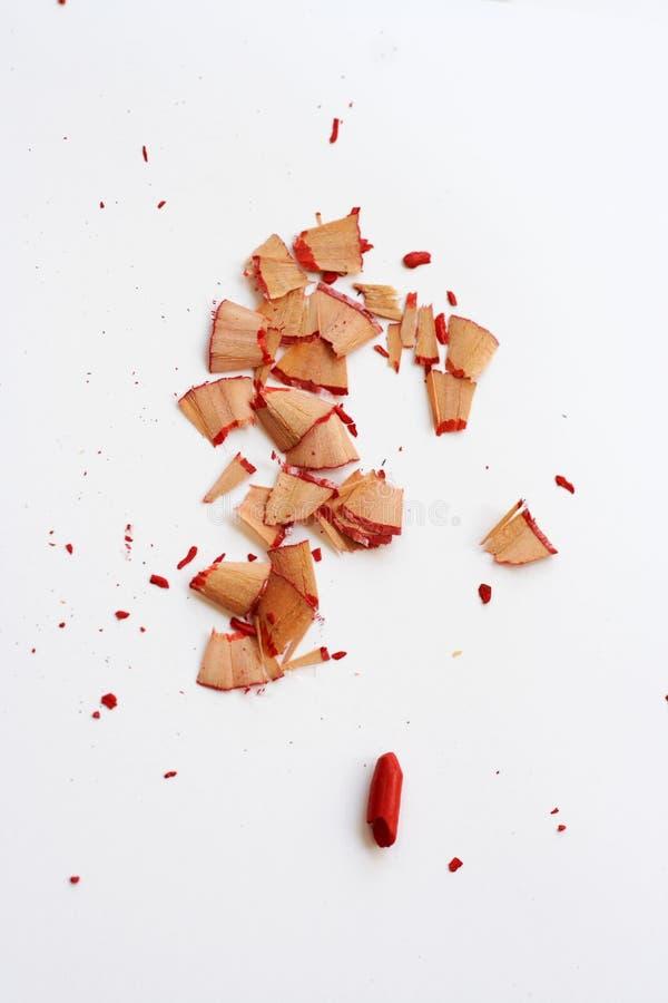 Fil de sortie rouge cassé images stock