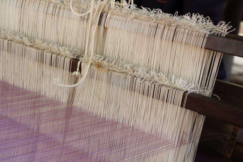 Fil de tissage pour l'industrie textile photographie stock libre de droits