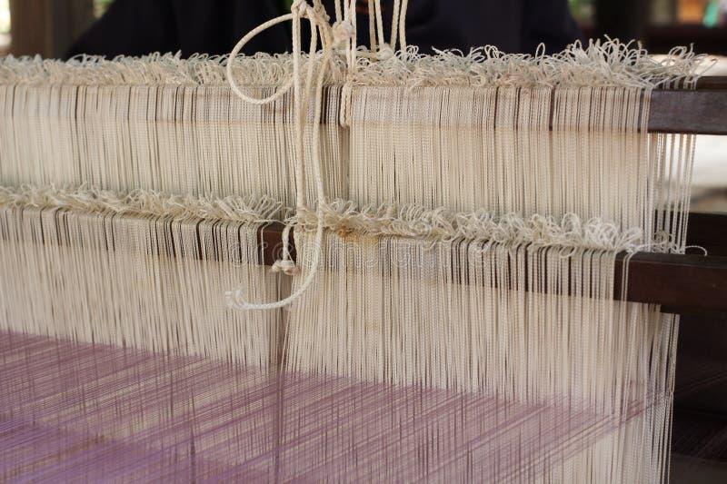 Fil de tissage pour l'industrie textile photographie stock