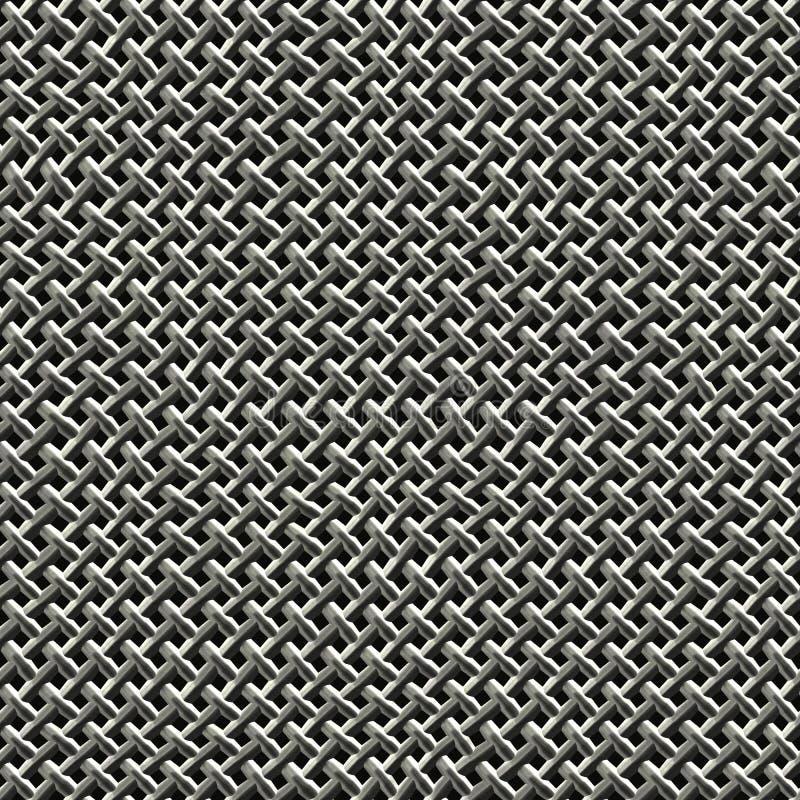 fil en métal de maille illustration de vecteur