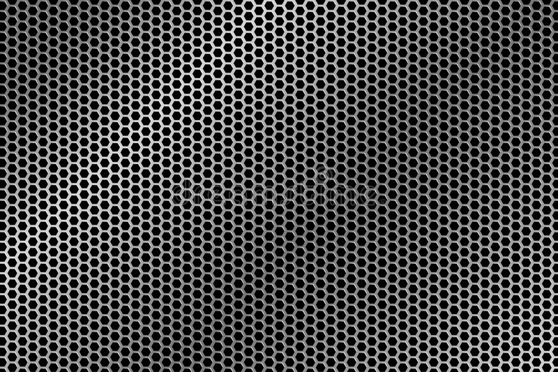 Fil Mesh Texture en métal illustration de vecteur
