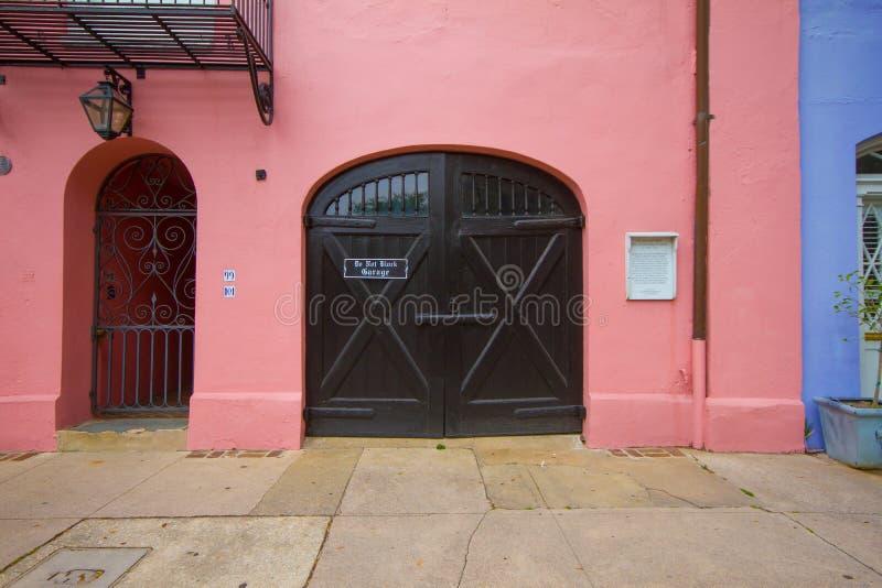Fila Arcoiris, Charleston, Carolina del Sur fotografía de archivo libre de regalías