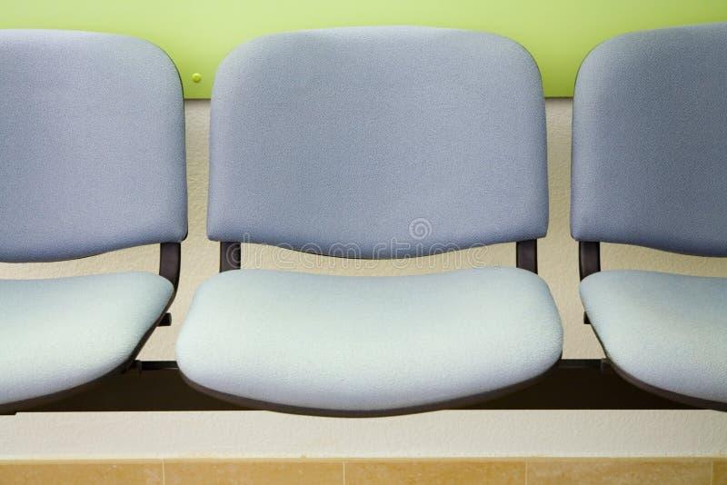 Fila de asientos imagen de archivo