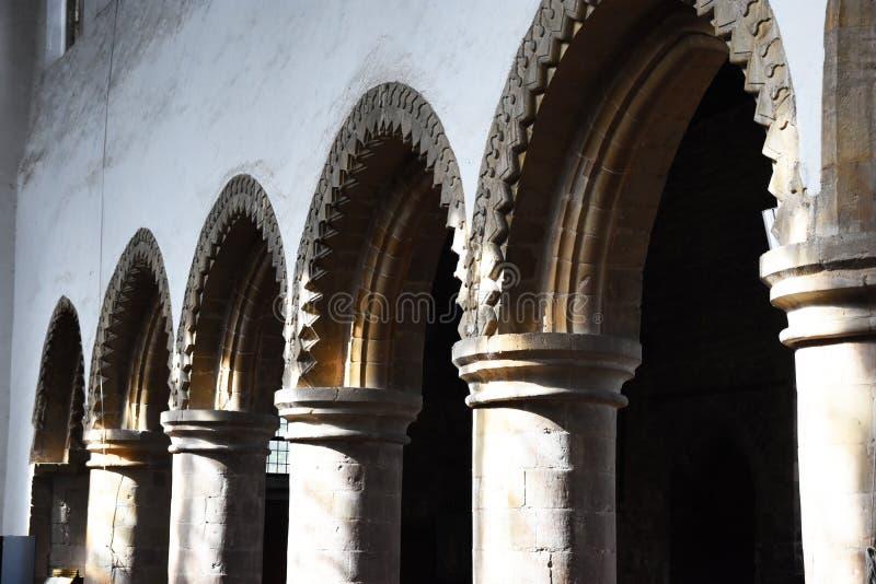 Fila degli arché immagini stock