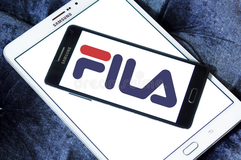 Fila logo royalty free stock image