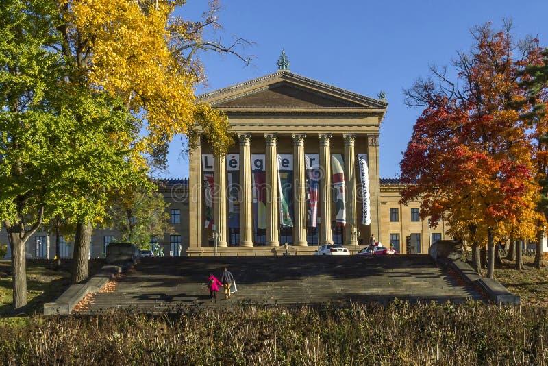Filadelfia Art Museum fotografie stock libere da diritti