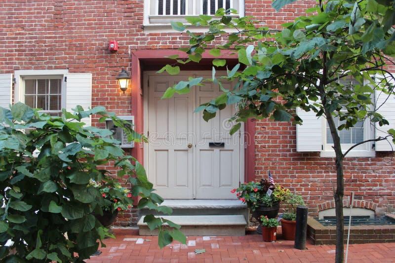 Filadelfia domu portret zdjęcia stock