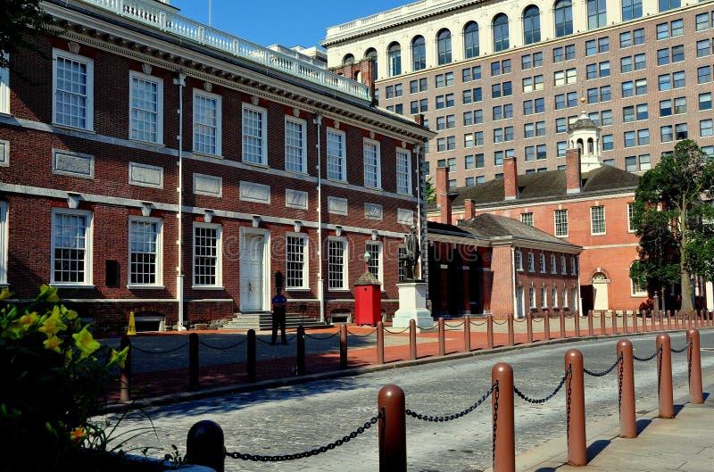 Filadelfia, PA: Indipendenza Corridoio fotografia stock libera da diritti