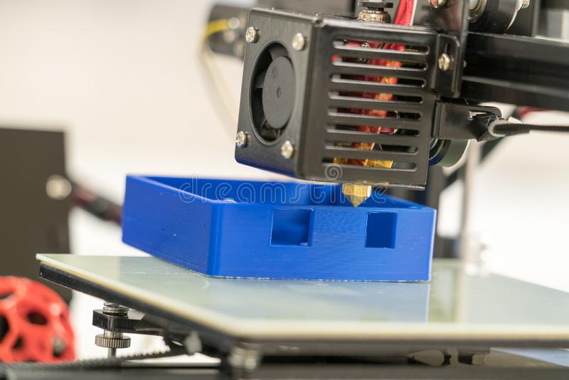 Filamento para a impressão 3d foto de stock