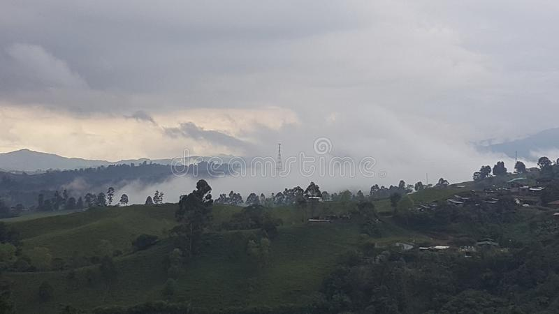 Filandia Colombia royalty free stock images