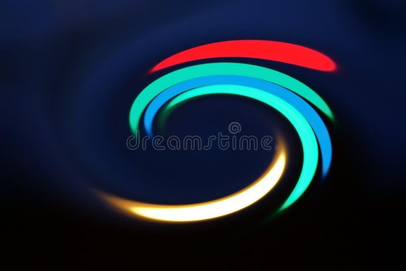Filando e spettro di colori di rotazione usato per il concetto del fondo o di logo fotografie stock libere da diritti