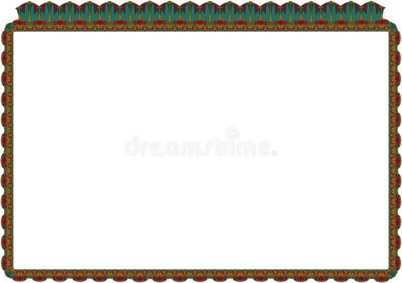 Filaru wzór 06 royalty ilustracja