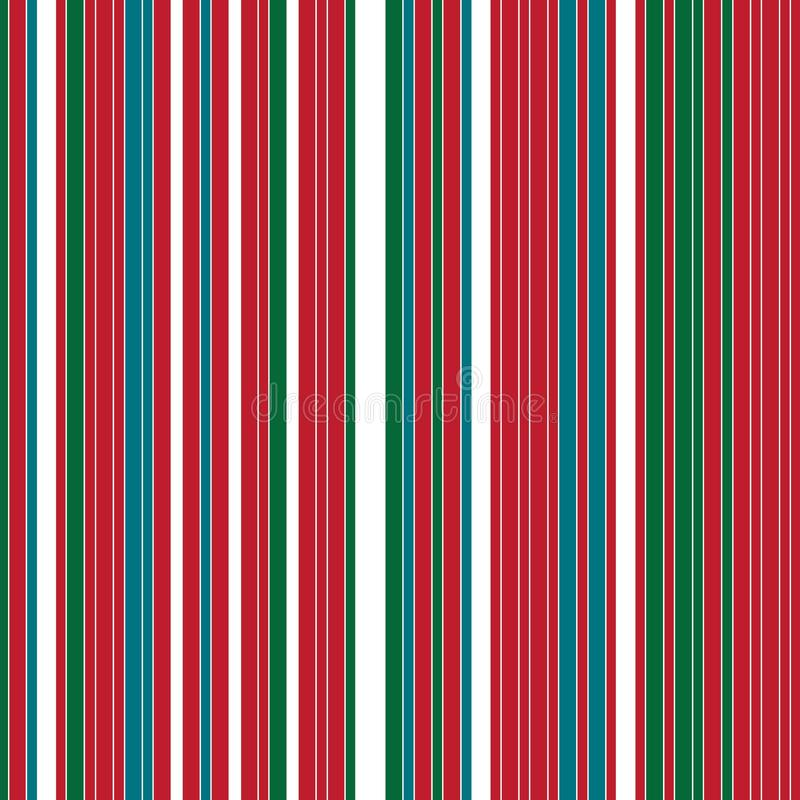 Filas coloreadas verticales ilustración del vector