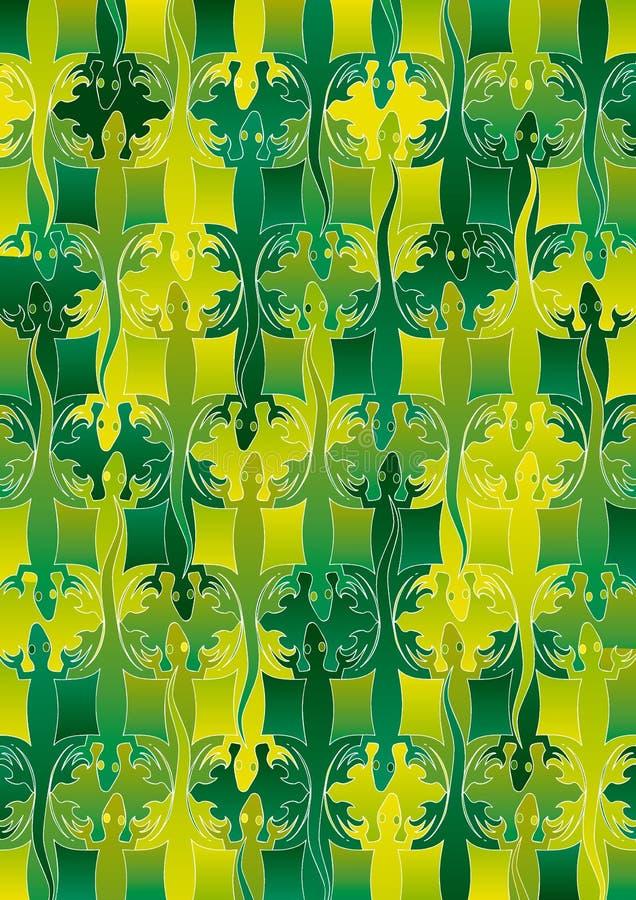 Filas del lagarto 9 libre illustration