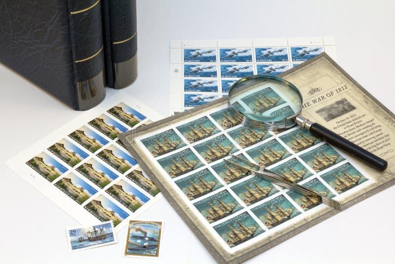 Filatelia fotos de archivo libres de regalías