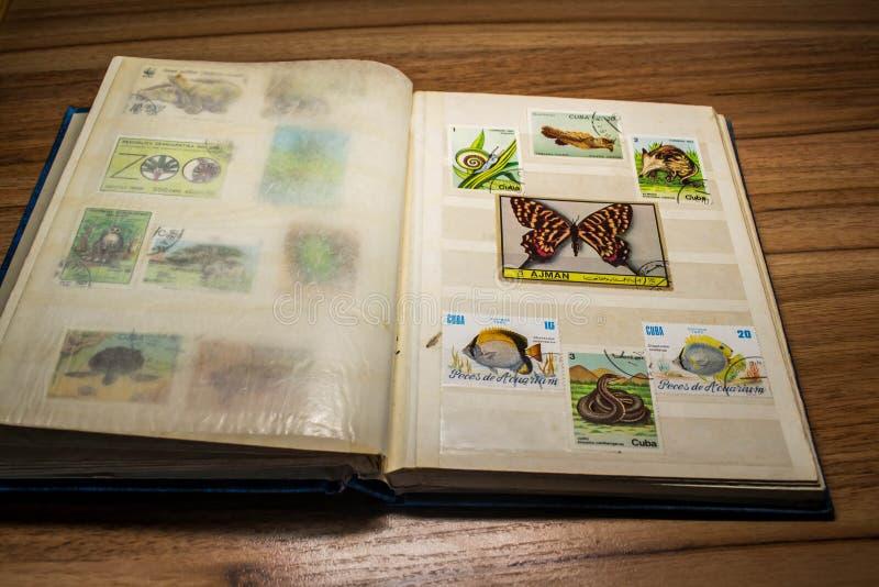 Filatelia 11 fotografía de archivo libre de regalías