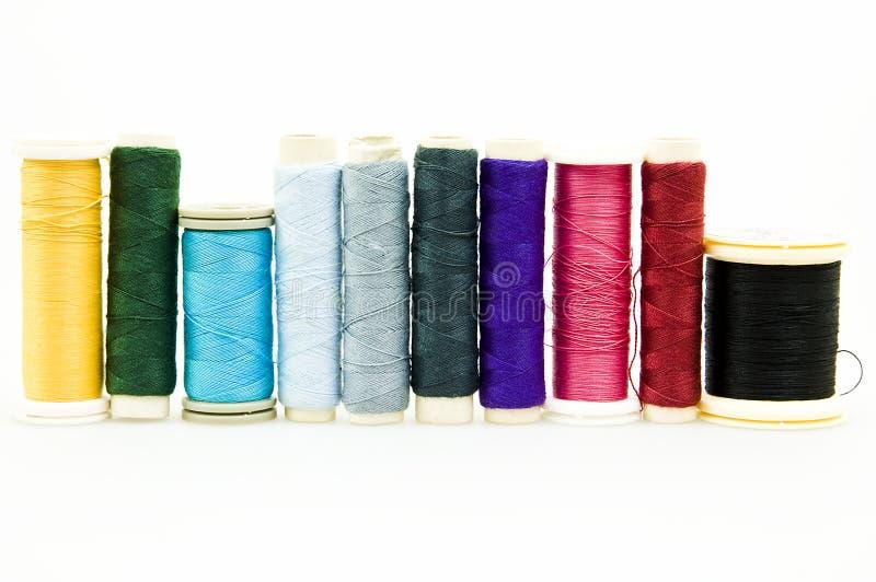 Filato cucirino fotografie stock