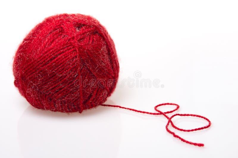 Filato di lana fotografie stock libere da diritti