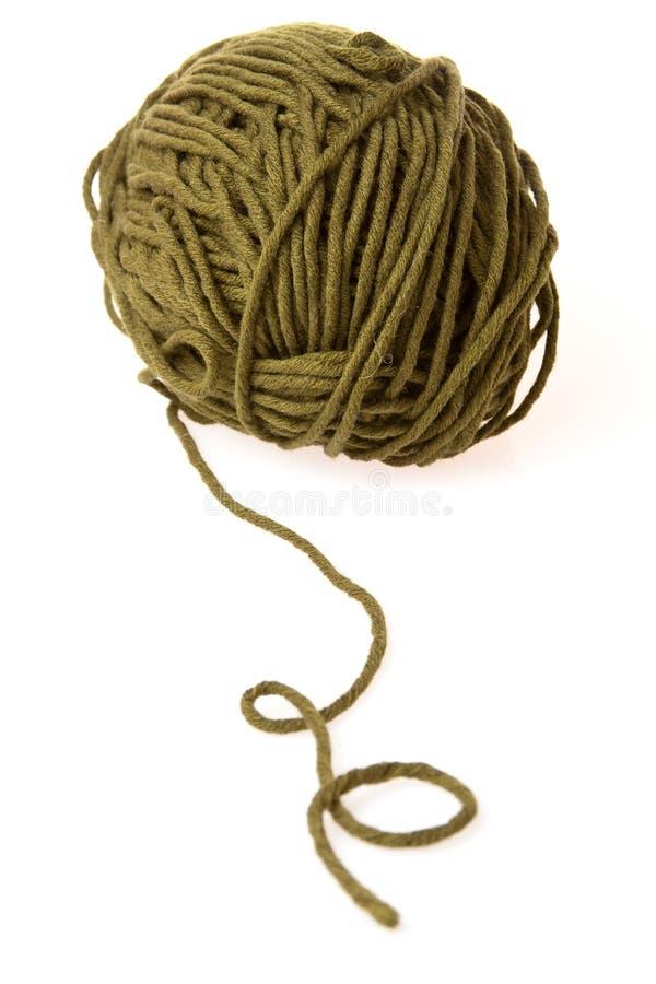 Filato di lana immagine stock