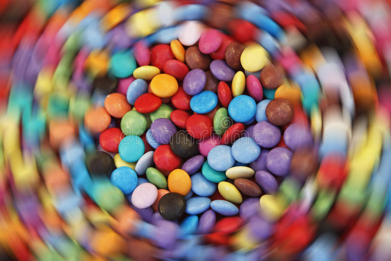 Filatura di sbalzo dello zucchero immagine stock