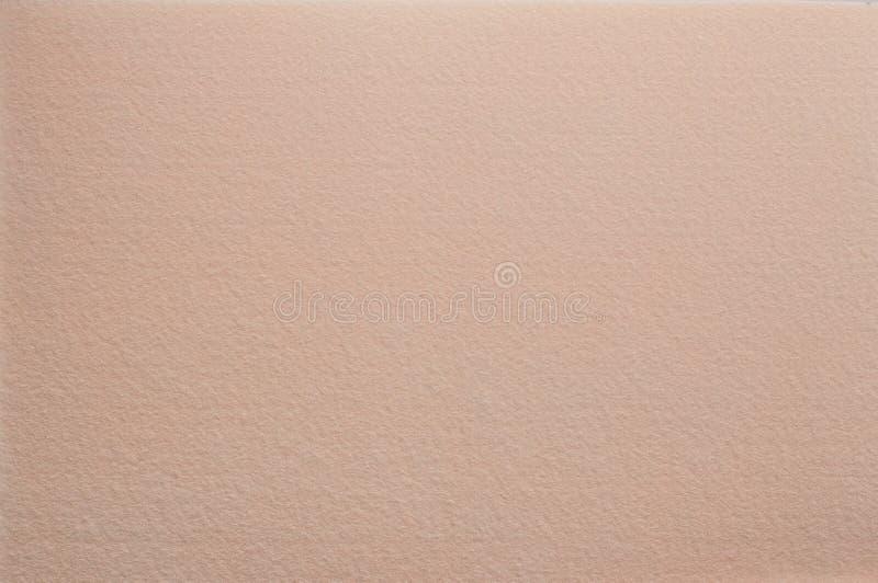 Filc powierzchnia w beżowej kawie z dojnym kolorem zdjęcie royalty free