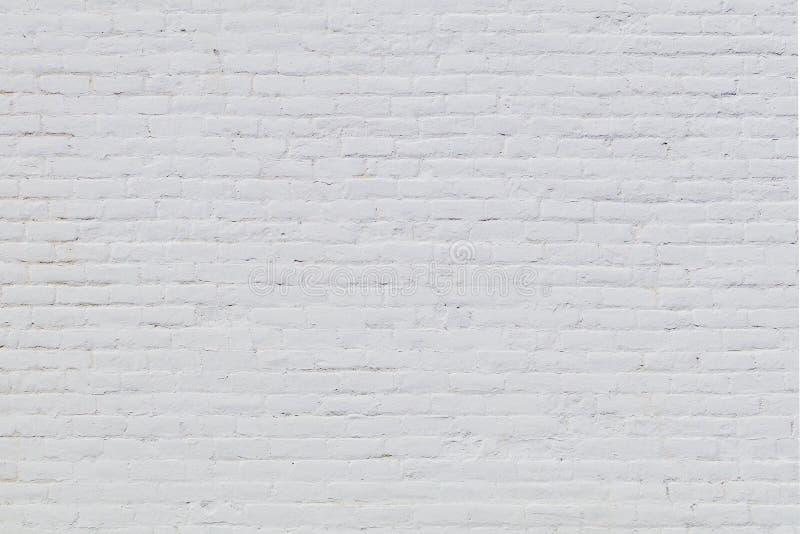 File bianche del mattone fotografie stock libere da diritti