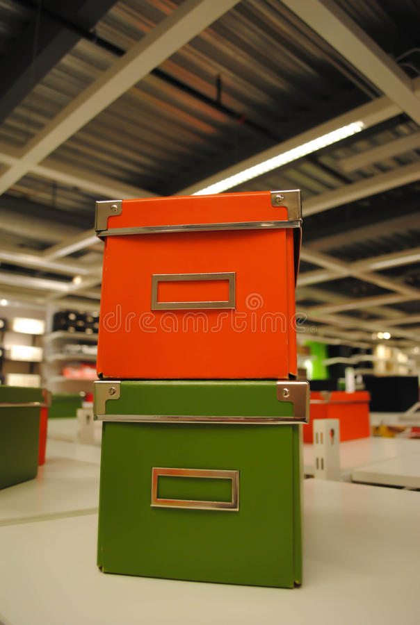 Download File boxes stock image. Image of store, table, white - 20807963