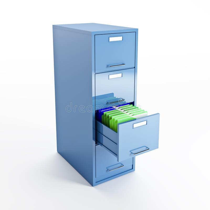 Download File cabinet stock illustration. Image of interior, folder - 14852081