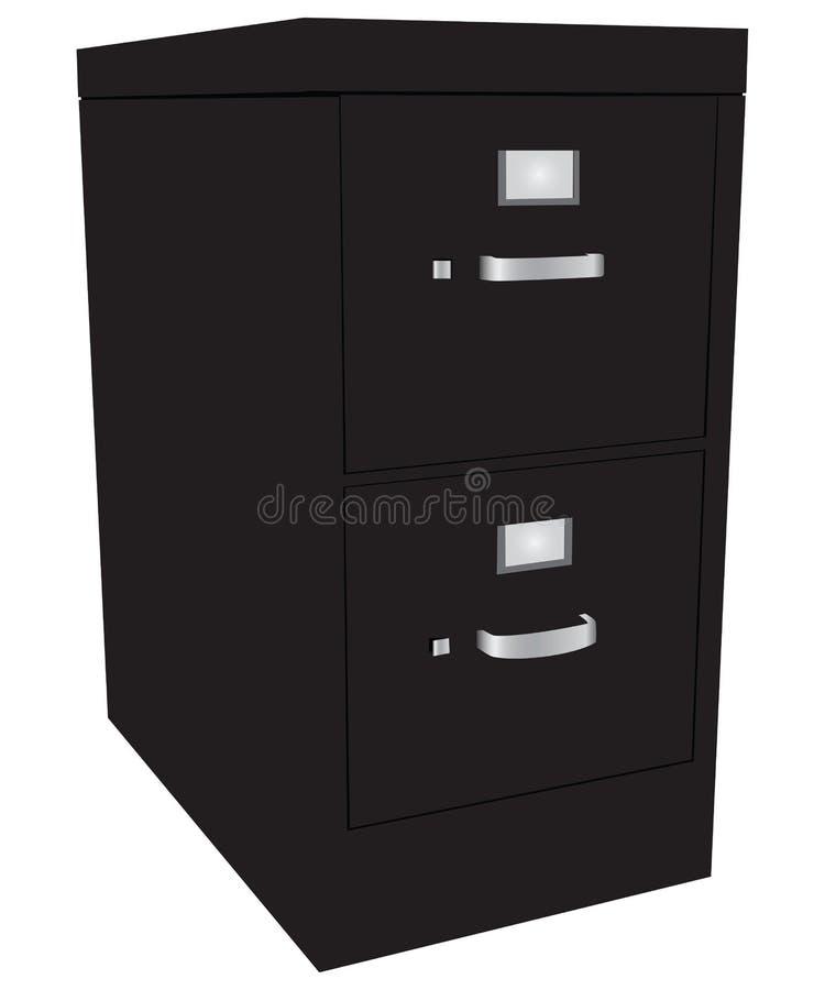 File Cabinet royalty free illustration