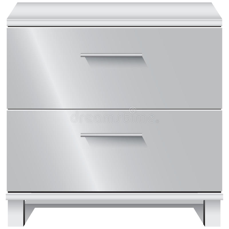 File Cabinet stock illustration