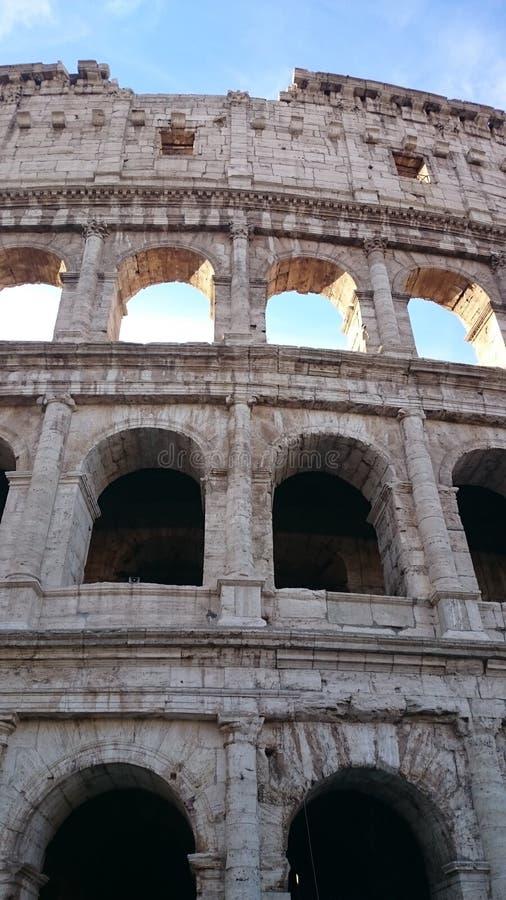 3 file di Roman Colosseum immagini stock