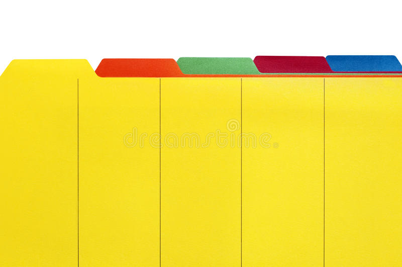 Download File Dividers stock image. Image of photograph, color - 11018221