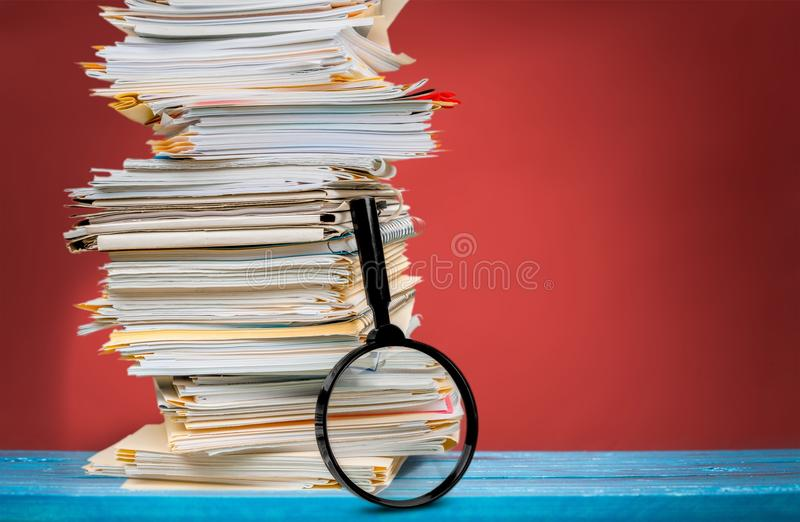 File Documents stock image